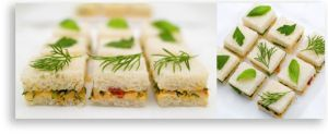 Martha Stewart Recipes Tea Party | Very Chic Selections from Martha Stewart- fresh herbs make the perfect ...