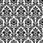 Wallpaper Inn Store - Black and White small damask Wallpaper, R399,95 (http://shop.wallpaperinn.co.za/black-and-white-small-damask-wallpaper/)