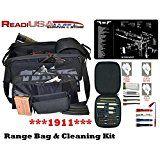 Cheap 1911 Tekmat / Explorer Tactical R5 17 5 Gun - Black Range Bag - Shooting Patrol Duty Bag with 26 PC Handgun deals week