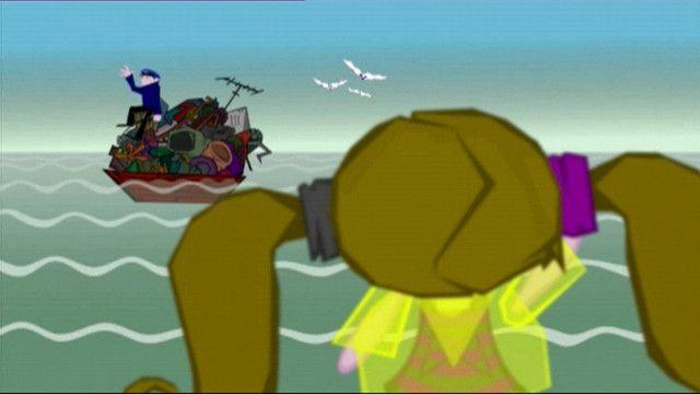 Vuilnisman aan zee Dit liedje gaat over thema 'afval'. In het liedje hoor en zie je wat de 'vuilnisman aan zee' iedere keer weer in het water vindt.