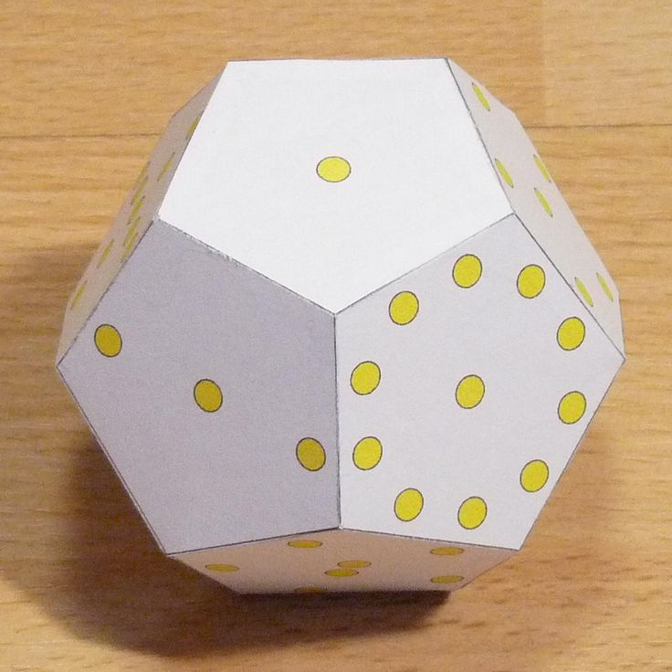25+ Unique Dodecahedron Template Ideas On Pinterest