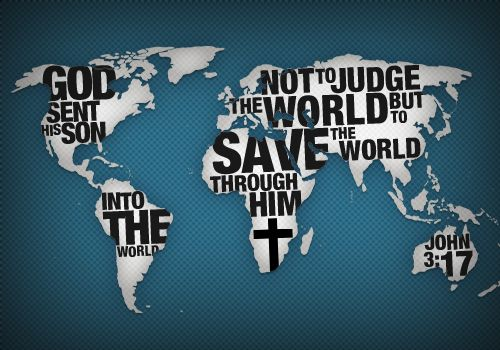 God sent His Son into the world not to judge the world but to save the world through Him. John 3:17