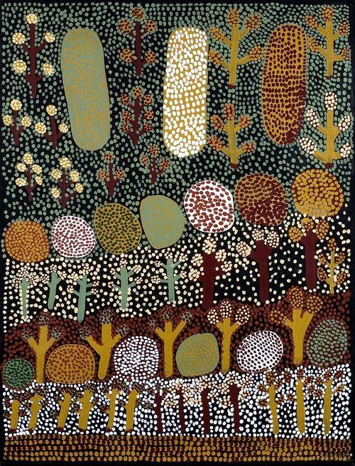 Lucy Ward - #aboriginal #art