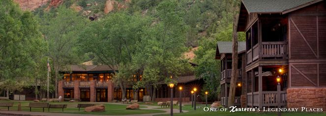 Zion Lodge, Historic Hotels in Springdale, Utah Zion National Park