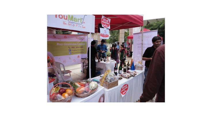 Reputed brands of various products had participated in the event by having stalls, displaying their products. YouMart believes in on-time delivery of the products or services to its customers, living anywhere in Bangalore. If it sounds good then please log on to www dot youmart dot in to start purchasing groceries online