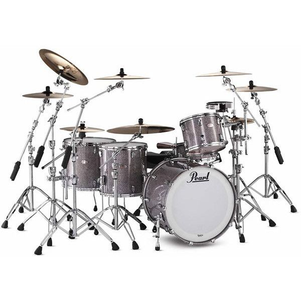 Pearl Reference Series 5 Piece Drum Kit ❤ liked on Polyvore featuring music, instruments, drums, accessories, band, backgrounds and filler