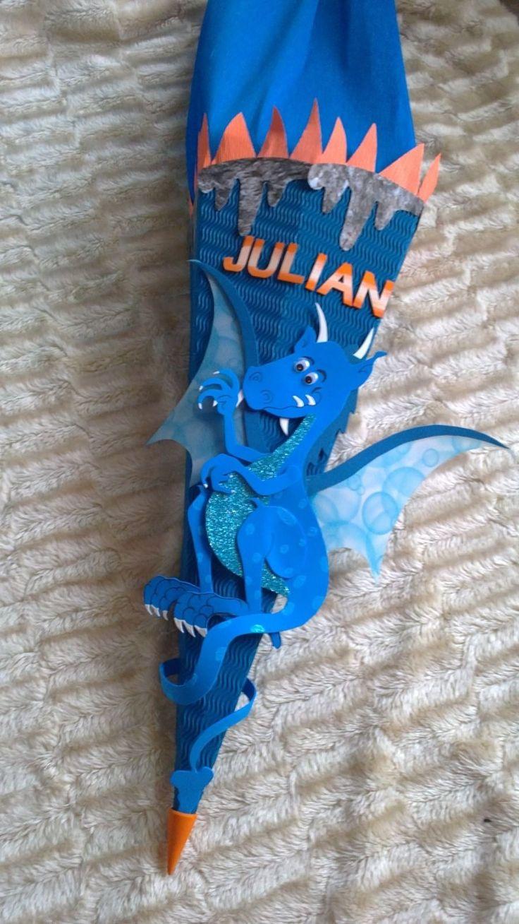 Drago Bastel-Set Schultüte Zuckertüte individuell 3D Wellpappe Moosgummi | eBay