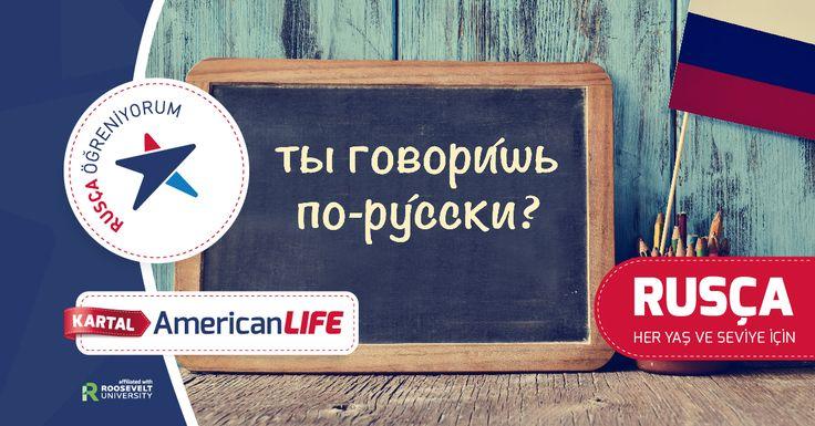 """Rusça Eğitimlerimiz Devam Ediyor.  Türk ve Rus eğitmenlerimiz eşliğinde ister Türkçeden Rusçaya - Rusçadan Türkçeye, ister İngilizceden Rusçaya - Rusçadan İngilizceye gerçekleştirilen programlarımız ile Rusça öğrenin.    Rusça denince akıllara gelen ilk soru """" Rusça öğrenmek zor mu?"""". Böyle bir yaklaşım genelde Rusçanın alfabesinin farklı olmasından kaynaklanmaktadır. Birçoğu alfabeyi öğrenmeyi zor bir basamak olarak görmekte ve Rusçayı """"zor"""""""