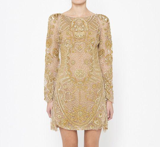 Emilio Pucci Gold Dress