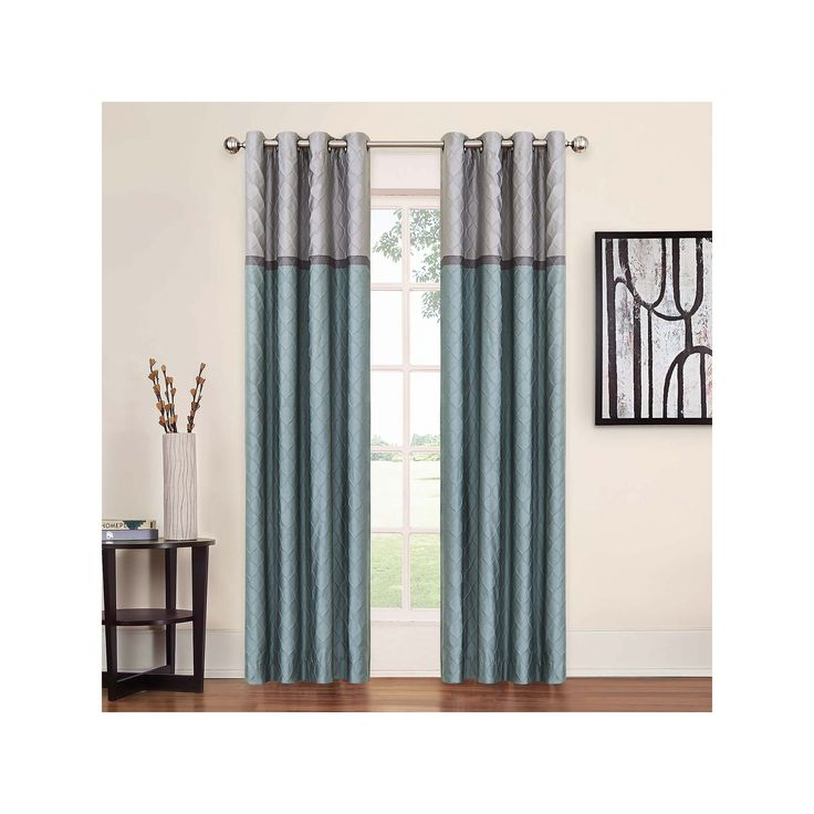 eclipse Arno Thermalayer Blackout Curtain, Blue