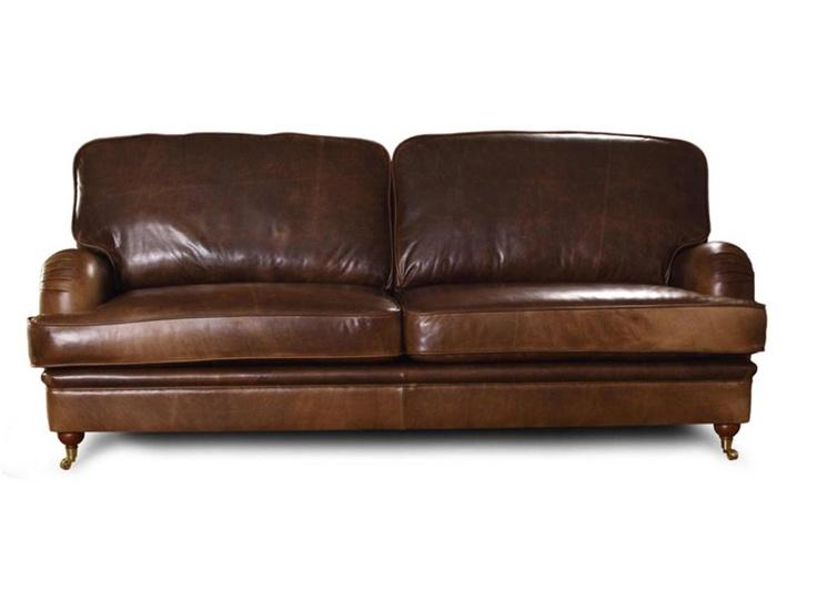 WINSTON 3-sits Soffa Läder i gruppen Inomhus / Soffor / ALLA SOFFOR hos Furniturebox (10-70-13486)