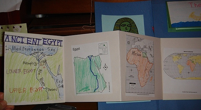 mapbook of ancient egypt