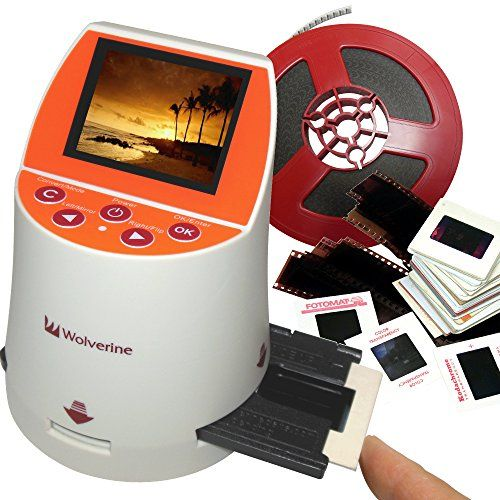 Wolverine F2D Mighty 20MP 7-in-1 Film to Digital Converter, 2016 Amazon Most Gifted Scanners  #Photography
