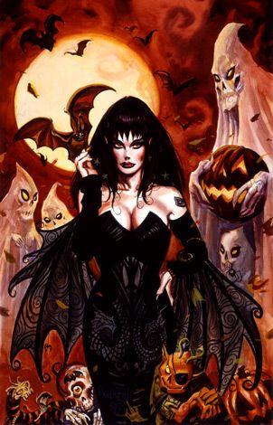 Halloween Queen by Dan Brereton