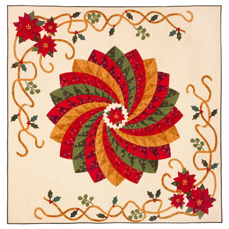267 best images about christmas/winter quilts on Pinterest