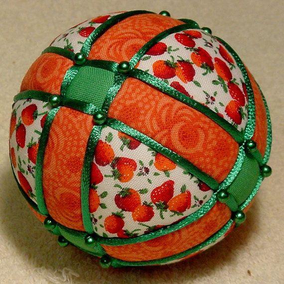 Kimekomi Ball Strawberry by DottiesTemaris on Etsy, $18.50