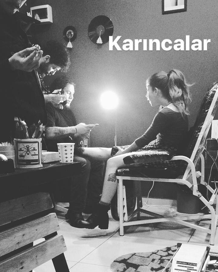 Karınca Tattoo Studio http://instagram.com/karincatattoo #karincatattoo #karinca #karınca #istanbultattoo #istanbuldövme #dövme #dovmeci #dövmesanatı #dövmesanatçısı #tattooartist #tattooer #istanbul #kadıköy