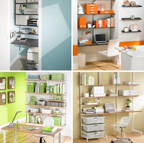23 best elfa shelving system images on pinterest desks for Elfa desk system