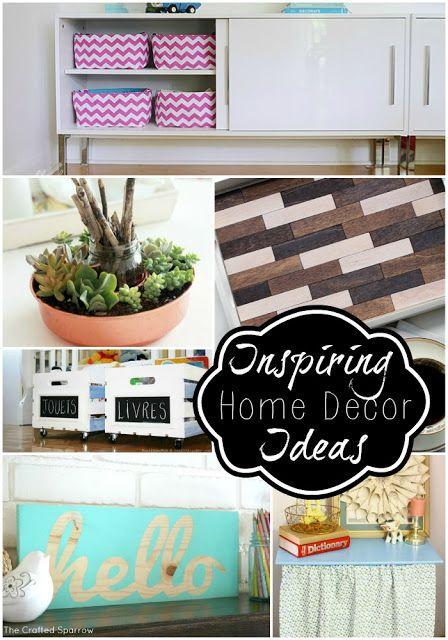 16 DIY Home Decor Ideas!