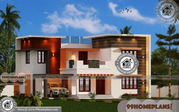 House Floor Plans Online 70 Two Storey Homes With Balcony Pictures Small Contemporary House Plans Latest House Designs House Arch Design