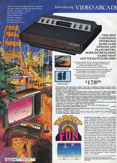 Atari video game system was on most kids Xmas lists