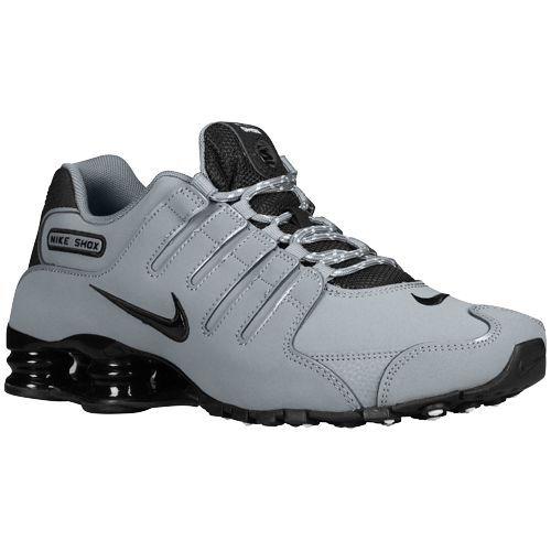 Nike Shox NZ - Men's - Running - Shoes - Cool Grey/Geyser Grey/Geyser Grey/Black