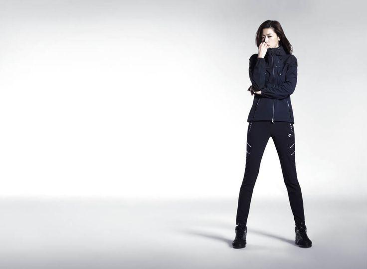 S.Korean actress, Jun Ji Hyun (전지현)  for NEPA Outdoor Equipment Spring 2014.