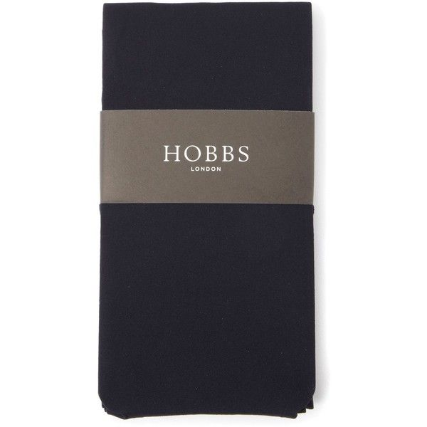 Hobbs Opaque Tights 60Den (€9,01) ❤ liked on Polyvore featuring intimates, hosiery, tights, accessories, navy, blue, women, opaque pantyhose, blue opaque tights and opaque stockings