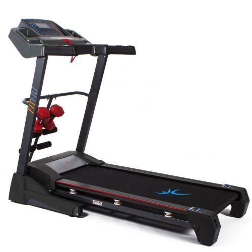 Cinta de correr plegable 2500w pantalla LCD velocidad hasta 22km/h