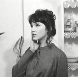 Model: Anna Karina Retrieved from: http://down-the-rabbith0le.tumblr.com/post/87574807040