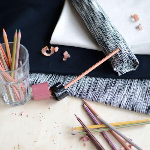 Jersey, Fantasia musta| NOSH Fabrics Pre Autumn Collection 2016 is now available at en.nosh.fi | NOSH syksyn ennakkomalliston 2016 kankaat ovat nyt saatavilla nosh.fi