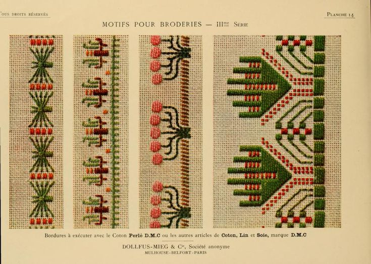 Motifs pour broderies. (IIIme série) No. 14