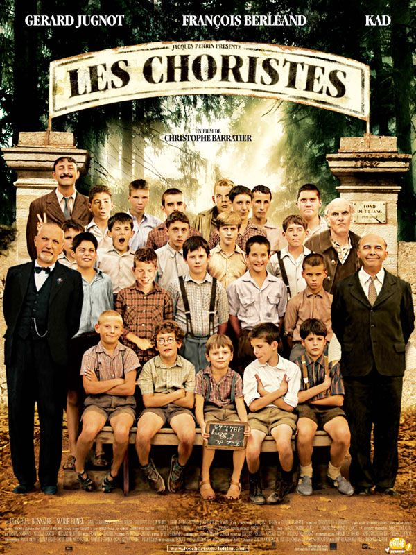 because of the french accent, winsome music and Jean-Baptiste Maunier's voice.    and of course charming Les Choristes.