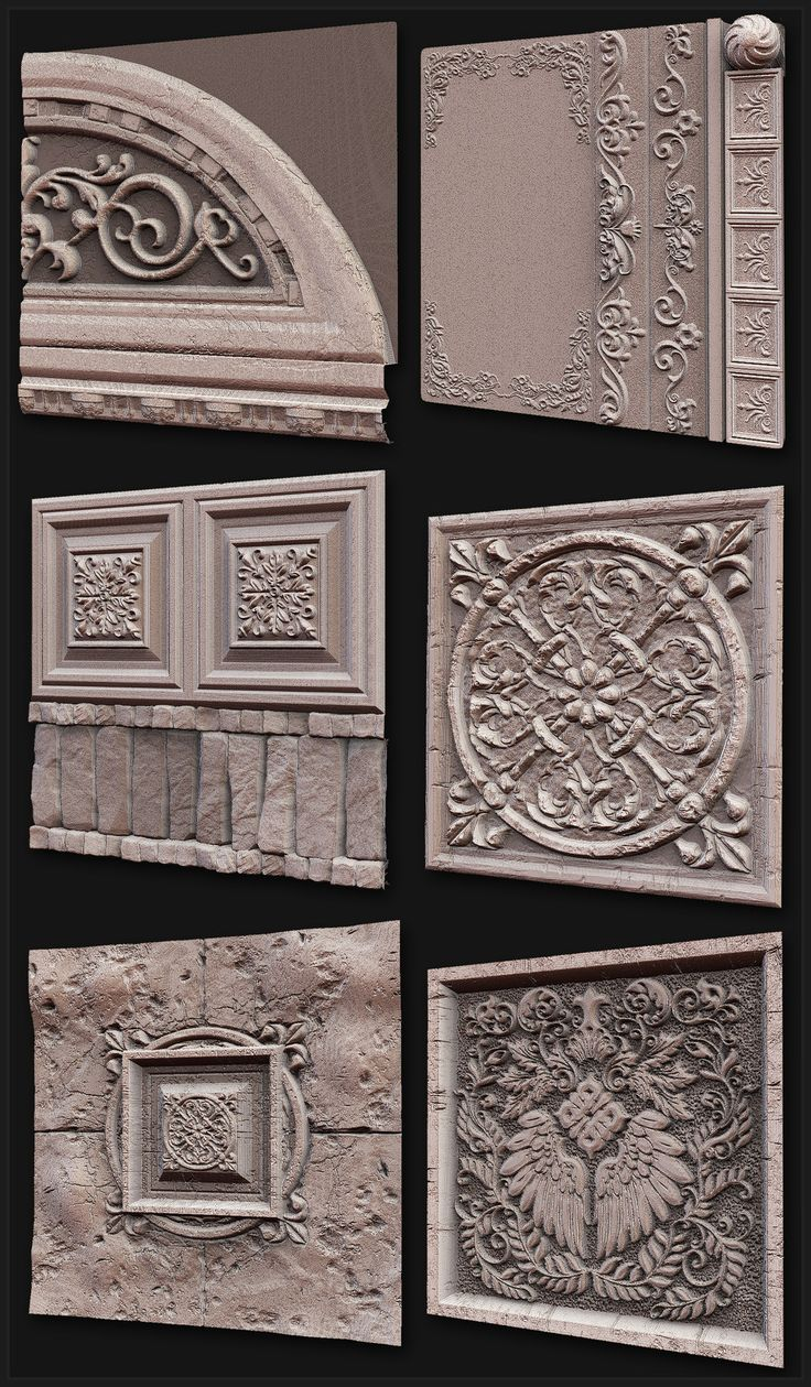 Zbrush and Mudbox Sculpts : Texture and Shader