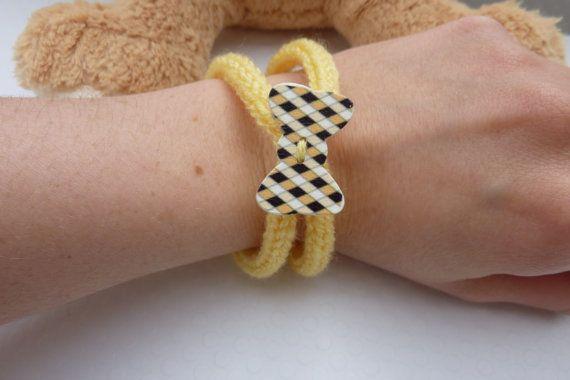 Yellow barcelet