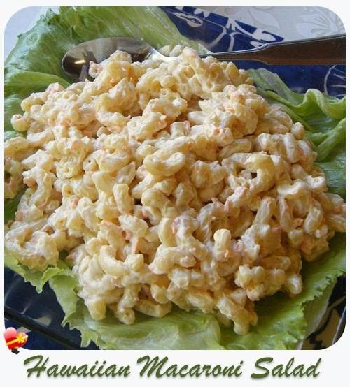 Delicious local style Hawaiian Macaroni Salad recipe..... and here I've been making this for years, and just didn't know it was called this! ;)