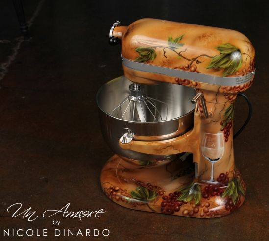 "A ""must have"" in an Italian kitchen! I LOVE THIS WISH I COULD CHANGE MY MIXER TO THIS"