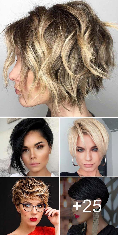 30 Best Short Haircuts for Women | Short hair trends, Short hair styles,  Haircut for thick hair