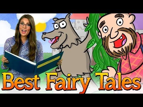 Best Fairy Tales! Story Time Favorites w/ Ms. Booksy at Cool School - YouTube