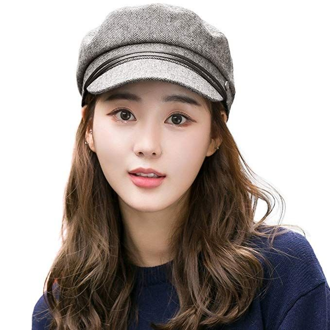 Womens winter cap Captain women/'s cap Trendy visor hat Blue visor cap women Winter cap hat Newsboy womens hat Newsboy cap women