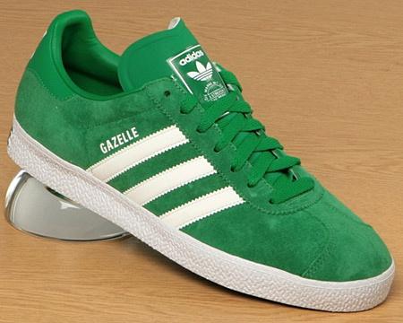 Gazelle Adidas Green