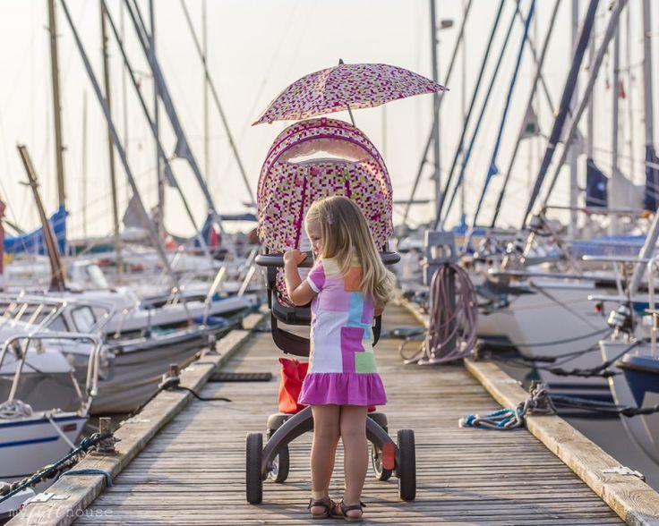 Rønne Marina, Klara and her Stokke Xplory Pink Pixel + the ultimate summer :)