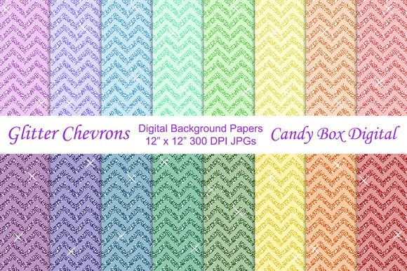 Check out Glitter Chevron Background Papers by Candy Box Digital on Creative Market