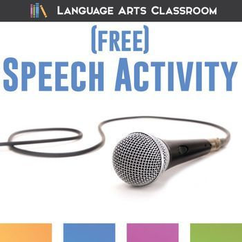 Public Speaking Activity - implement in any speech class tomorrow!
