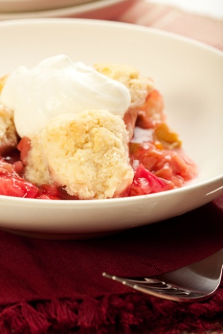 Apple Rhubarb Crisp | Desserts/Bars/Ice Cream | Pinterest
