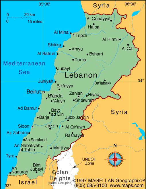 I want to visit the 'Motherland' - My maternal grandfather's parents came from Lebanon so I want to see where my ancestors came from.