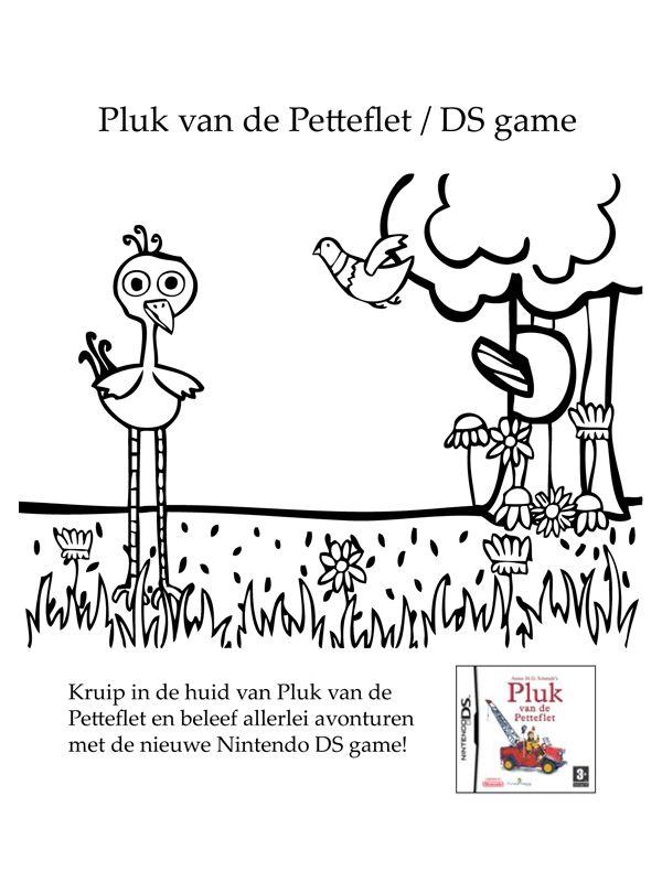 Kleurplaat Pluk van de Petteflet - Kleurplaten.nl