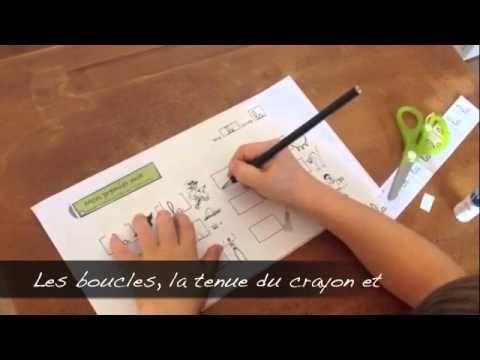 Vidéos d'activités pour apprendre à écrire - mon premier mot