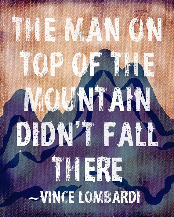 Rustic Outdoor Decor The man on top of the mountain by cjprints