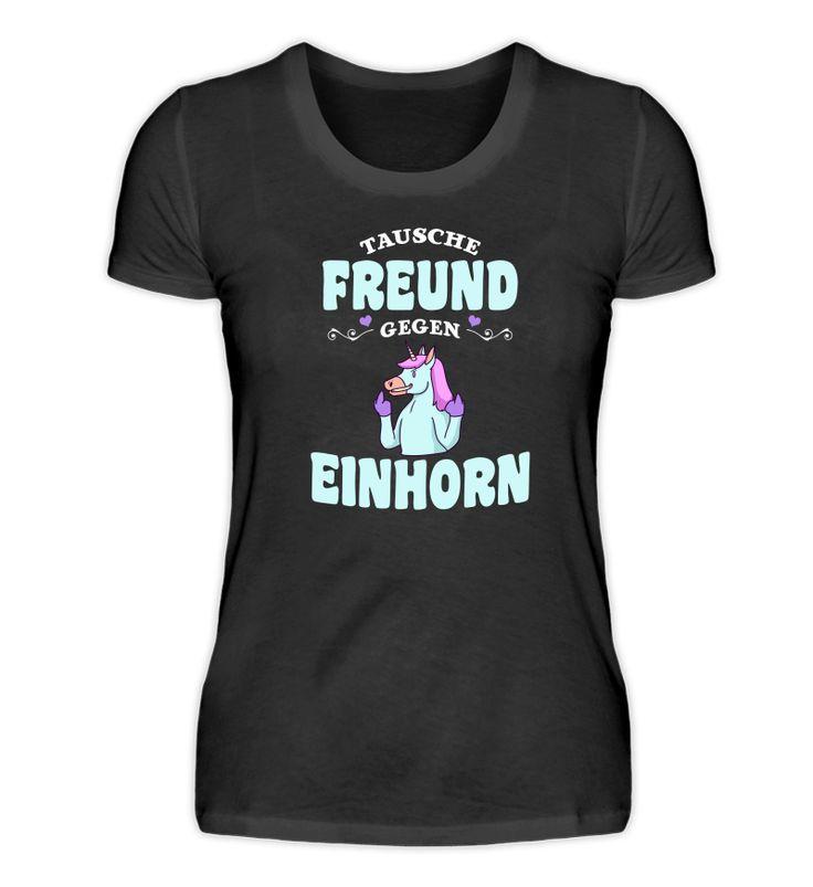 Einhorn Shirt Freundin Geschenk